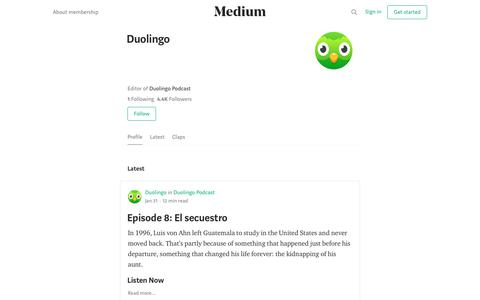 Duolingo – Medium