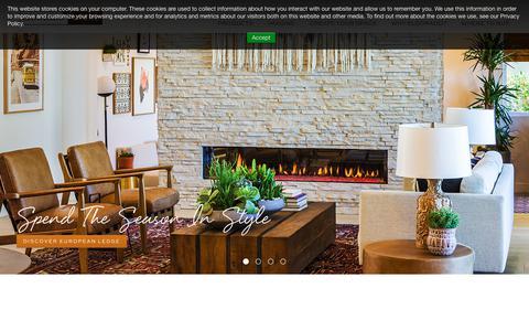 Screenshot of Home Page eldoradostone.com - Eldorado Stone - Stone Veneer, Architectural Stone and Brick Products - captured May 5, 2019