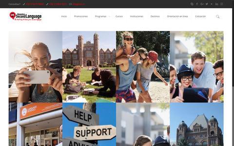 Screenshot of Blog escuelasdeingles.cl - Blog - Estudiar en el extranjero, especialistas en cursos en el extranjero - captured July 29, 2017