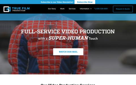 NYC Corporate Video Production Company - New York NYTrue Film Production – NYC Corporate Video Production Company