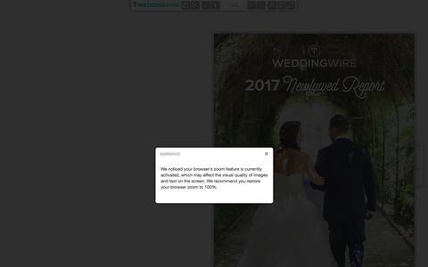 WeddingWireEDU - WeddingWire 2017 Newlywed Report