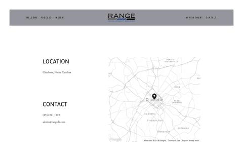 Screenshot of Contact Page rangedevelopmentservices.com - Contact — Your Site Title - captured Dec. 20, 2018
