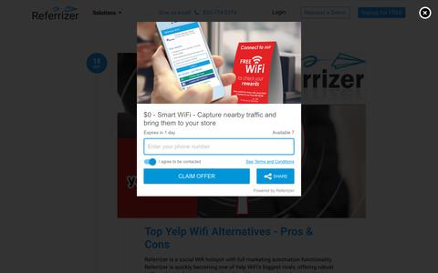 Screenshot of Blog referrizer.com - Blog – Referrizer - captured Oct. 21, 2019