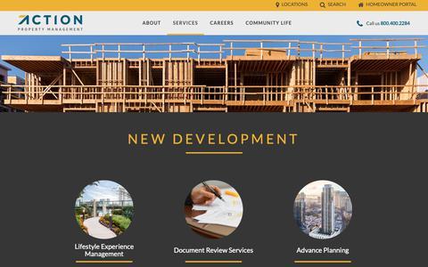 Screenshot of Developers Page actionlife.com - Developer | Action Property Management - captured Oct. 3, 2018