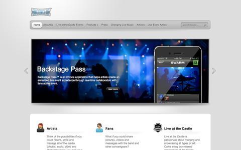 Screenshot of Home Page Terms Page enconcert.com - Enconcert - captured Oct. 2, 2014