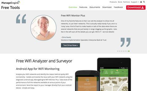 Free WiFi Monitor | WiFi Analyzer & Surveyor - ManageEngine