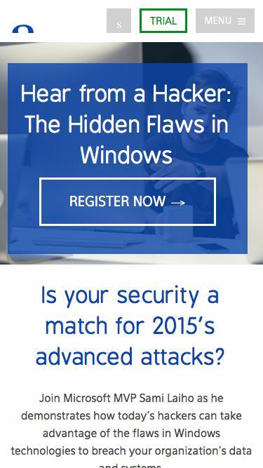 Hear from a Hacker webinar