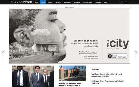 Screenshot of Press Page yorkdispatch.com - News - York Dispatch - captured Oct. 2, 2018