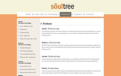 Screenshot of Products Page soultree.in - Ayurvedic Product | Soul Tree - captured Sept. 30, 2014