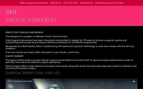 Screenshot of Testimonials Page cairntechnology.com - Stille Club — Cairn Technology - captured July 11, 2017