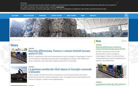 Screenshot of Press Page revet.com - News Archives - Revet - captured Feb. 15, 2016