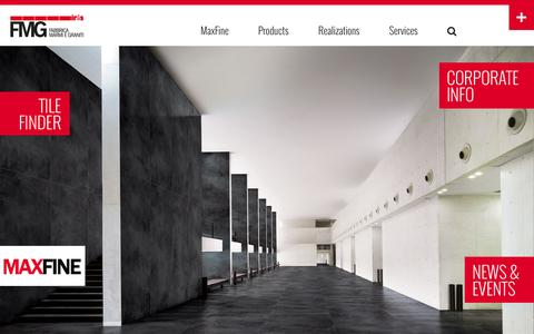 Screenshot of Privacy Page irisfmg.com - Porcelain Tile Floorings and Wall coverings - FMG Fabbrica Marmi e Graniti - captured Oct. 5, 2014