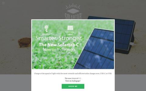 Screenshot of FAQ Page mysolartab.com - User Guide — Solartab - captured Dec. 1, 2016