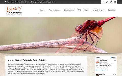 Screenshot of About Page likweti.co.za - About Us | Likweti - captured Oct. 3, 2014