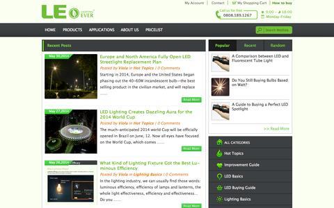 Screenshot of Blog lightingever.co.uk - Lighting Design Inside | Lighting EVER - captured Sept. 22, 2014