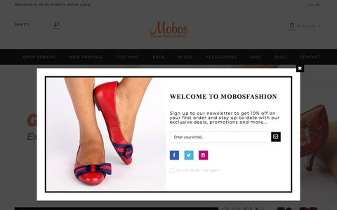 Screenshot of Home Page mobosfashion.com - Online Shopping |Clothings, Shoes, Bags, Accessories | Mobosfashion - captured Feb. 4, 2018