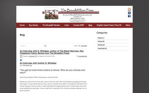 Screenshot of Blog webs.com - Blog - captured Feb. 18, 2018