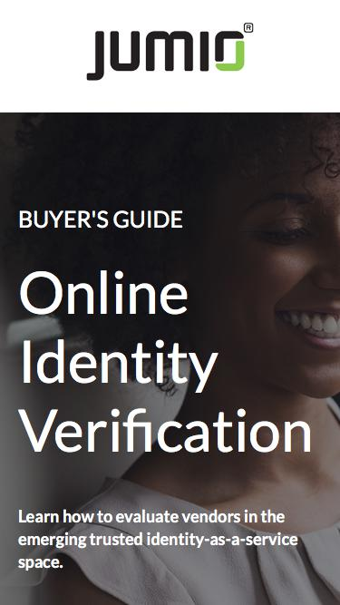 Buyer's Guide to Online Identity Verification