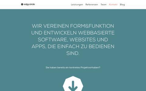 Screenshot of Team Page edgycircle.com - edgy circle | Software, Websites & Apps | Salzburg - captured Sept. 30, 2014