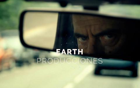 Screenshot of Home Page earthproducciones.com - EARTH PRODUCCIONES - captured July 18, 2015