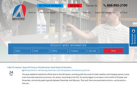 Screenshot of Blog industrialsupplyproducts.com - MRO Supply Company Blog | AmeriSource Industrial Supply - captured Sept. 30, 2018