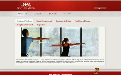 Screenshot of Signup Page doclermedia.com - Docler Holding - captured May 2, 2017