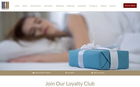 Screenshot of Signup Page leopoldhotel.co.uk - Loyalty Club -   Hotel Sheffield | Leopold Hotel Sheffield - captured Sept. 28, 2018