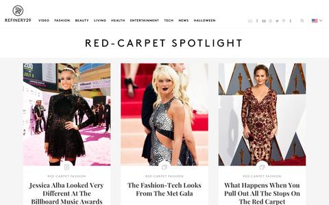 Red Carpet Dresses And Celebrity Beauty Looks