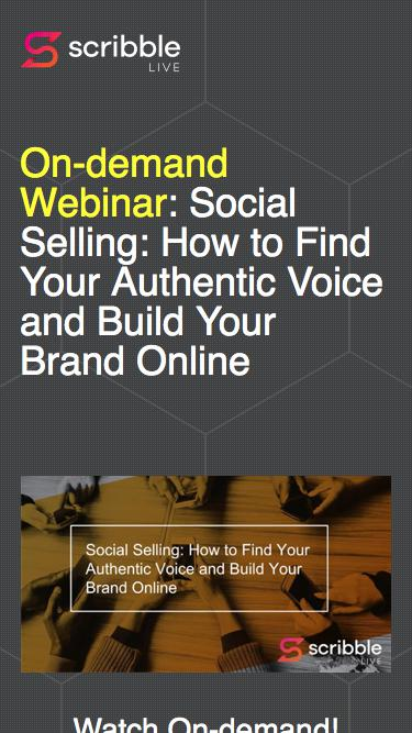 Social Selling: How to Find Your Authentic Voice and Build Your Brand Online