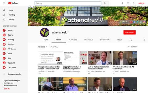 athenahealth - YouTube - YouTube