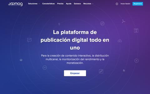 Plataforma de publicación digital para todos | | Joomag