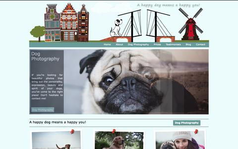 Screenshot of Home Page spoileddo.gs - Spoiled Dogs - A happy dog means a happy you! - captured Oct. 6, 2014