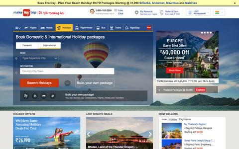 International Tour Packages - Book International Holiday Packages, World Tour Packages, Vacation Packages at MakeMyTrip