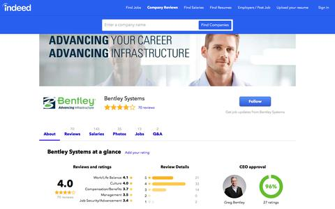 Bentley Systems Careers and Employment | Indeed.com