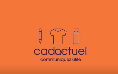 Screenshot of Blog cadactuel.com captured Oct. 21, 2018