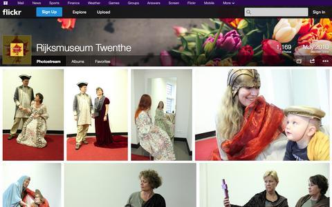 Screenshot of Flickr Page flickr.com - Flickr: Rijksmuseum Twenthe's Photostream - captured Oct. 26, 2014