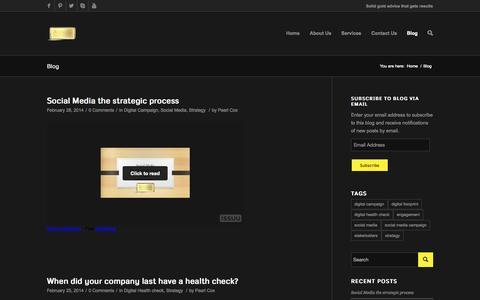 Screenshot of Blog aureatedigitalconsultancy.co.uk - Blog | Aureate Digital Consultancy - captured Oct. 4, 2014