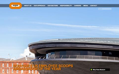 Screenshot of About Page leadbitter.co.uk - Bouygues UK - captured Oct. 2, 2014