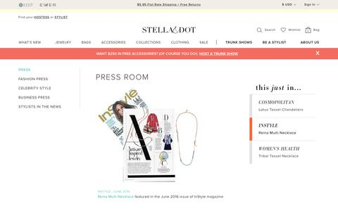 Stella & Dot Press Room | Stella & Dot