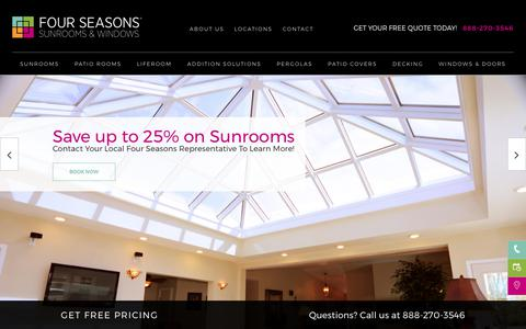 Sunrooms | Solariums | Four Seasons Sunrooms
