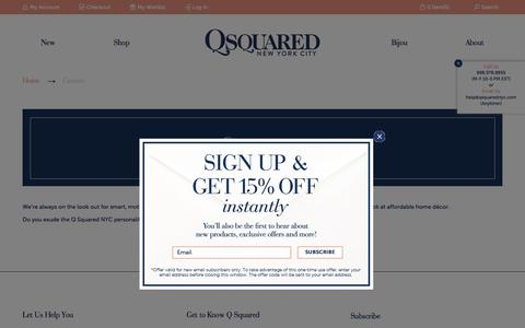 Screenshot of Jobs Page qsquarednyc.com - Q SQUARED NYC   Careers - captured March 8, 2016