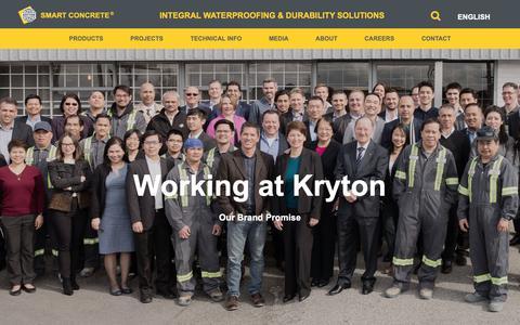 Screenshot of Jobs Page kryton.com - Careers | Kryton International Inc. - captured Nov. 15, 2018