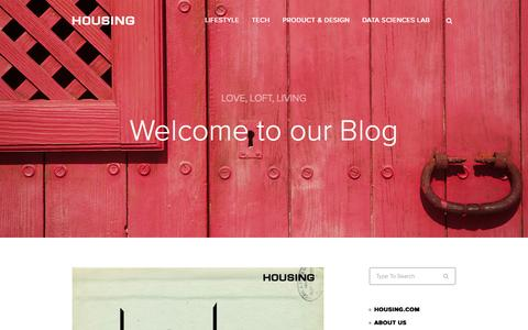 Screenshot of Blog housing.com - Housing Blog - captured Oct. 29, 2014