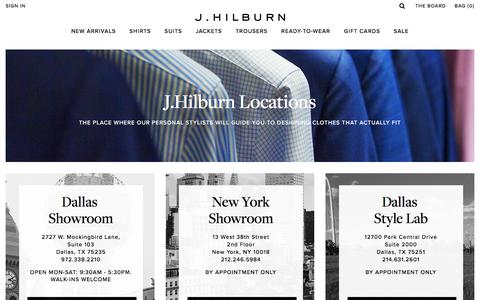 Locations | J.Hilburn