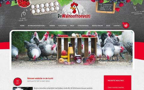 Screenshot of Blog walnoothoeven.nl - Blog | Walnoothoeve[n] - captured Nov. 3, 2014