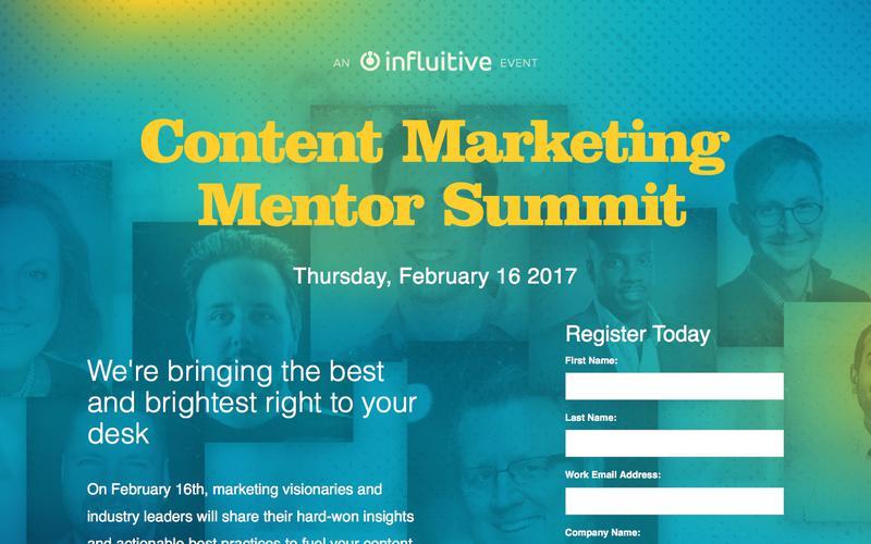 Content Marketing Mentor Summit