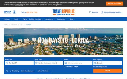 Cheap Holidays to Florida 2017/2018 | Travel Republic