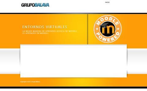 Screenshot of Home Page grupobalava.com - grupobalava.com - captured Sept. 30, 2014