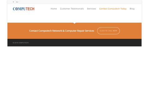 Screenshot of FAQ Page computechid.com - FAQ |  COMPUTECH - captured Sept. 25, 2018