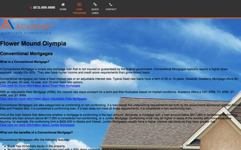 Flower Mound Olympia - Academy Mortgage Corporation